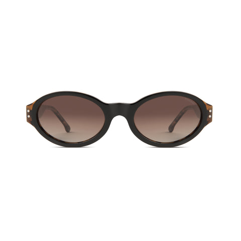 KOMONO Sam Sunglasses Black Tortoise