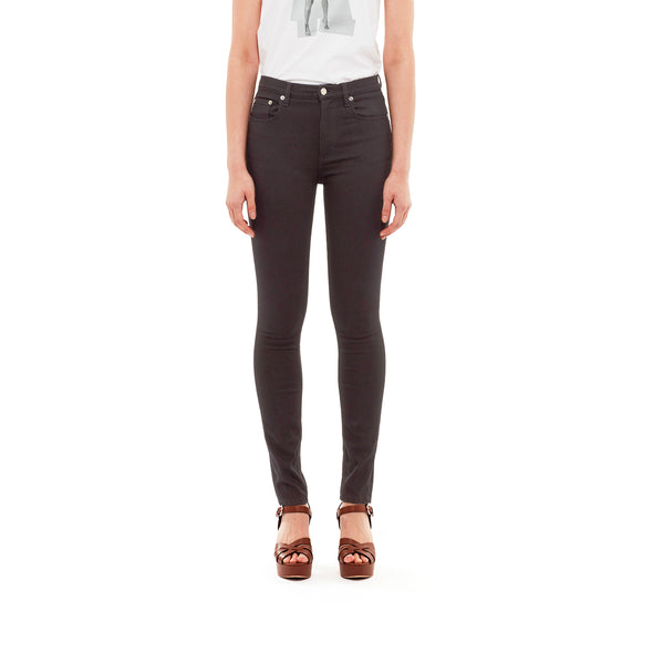 SELF CINEMA | W Skinny Jean Stay Black - Concrete