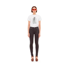 Load image into Gallery viewer, SELF CINEMA | W Skinny Jean Stay Black