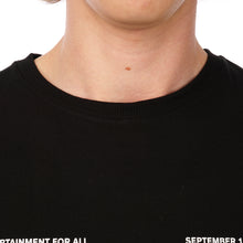 Load image into Gallery viewer, Soulland | Meets Playboy 'September' T-Shirt Black - Concrete