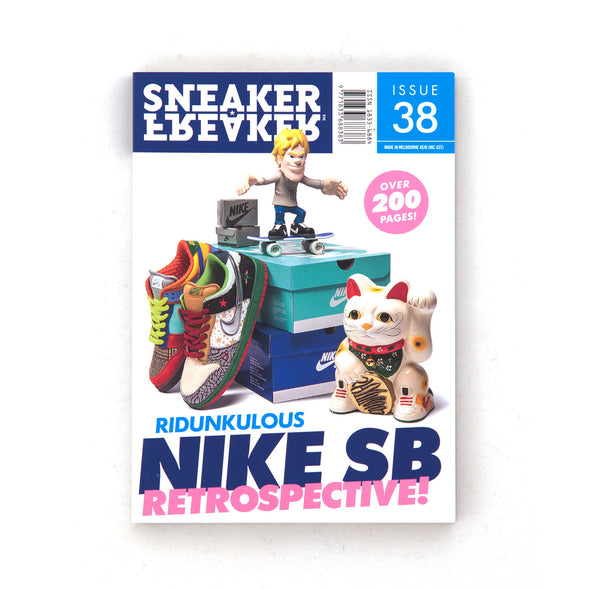 Sneaker Freaker Magazine Issue #38