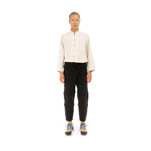Snow Peak Alpaca Knit Pants Black