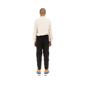 Snow Peak | Alpaca Knit Pants Black - Concrete