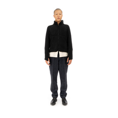 Snow Peak Classic Fleece Jacket Black