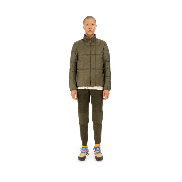 Snow Peak Recycled Middle Down Jacket Olive
