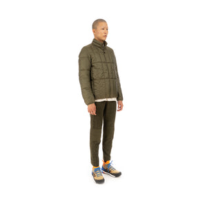 Snow Peak | Recycled Middle Down Jacket Olive - Concrete