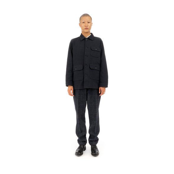 Snow Peak | Takabi Knit Jacket Black - Concrete
