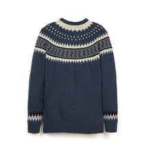 Load image into Gallery viewer, Soulland Zama Knitted One Piece Sweater Blue - Concrete