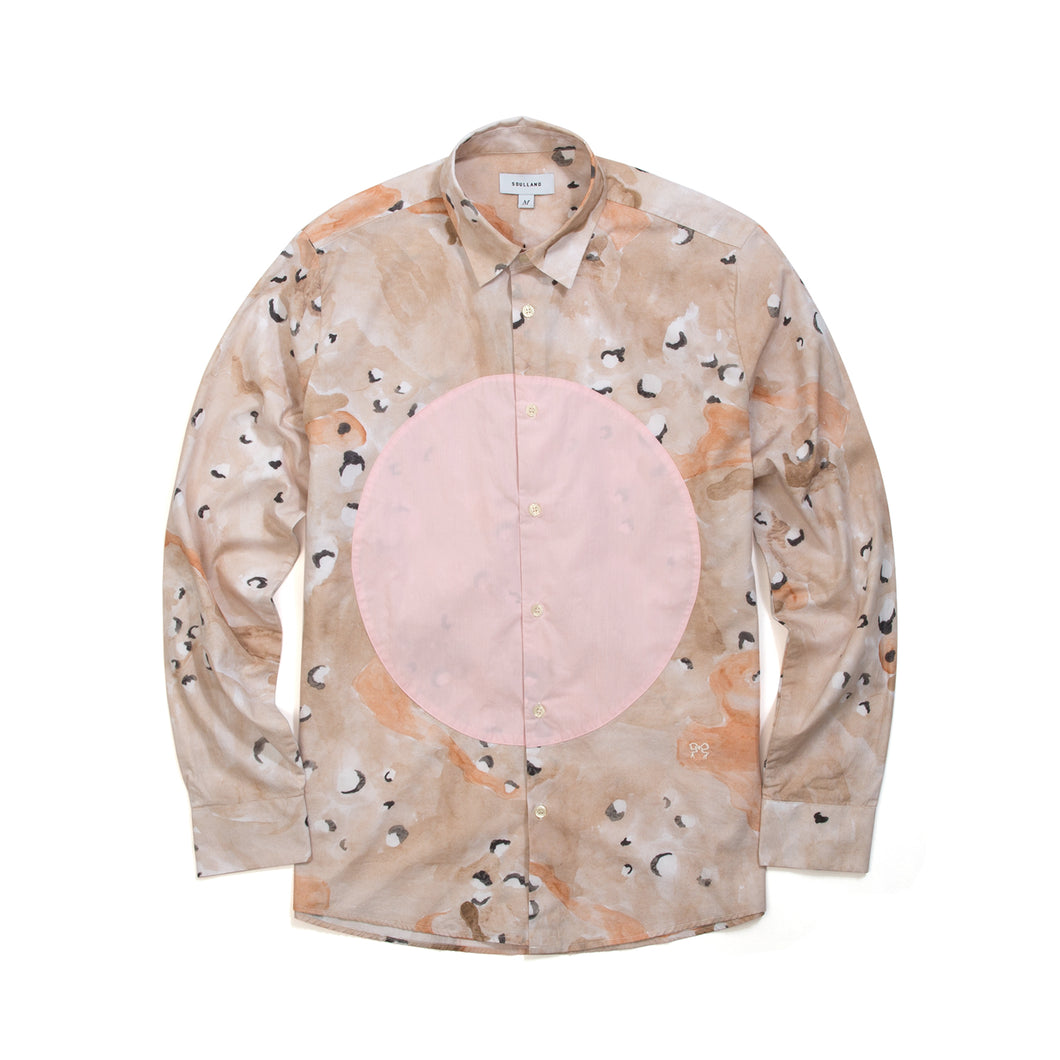 Soulland George Shirt Camo/Pink