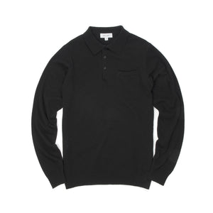 Soulland Man Polo Sweater Black