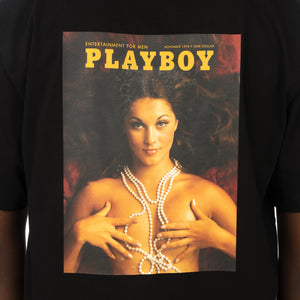 Soulland | Meets Playboy 'November' T-Shirt Black - Concrete