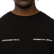 Load image into Gallery viewer, Soulland | Meets Playboy 'November' T-Shirt Black - Concrete