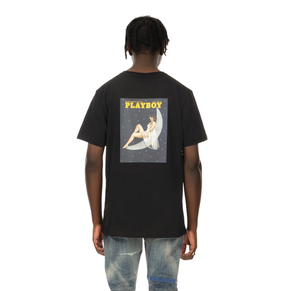 Soulland | Meets Playboy 'December' T-Shirt Black - Concrete