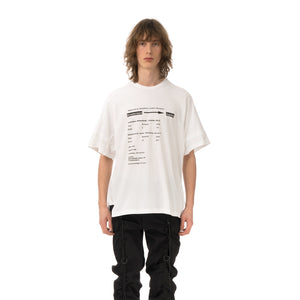 StillaDinnasLäb | Layered S/S Tee White