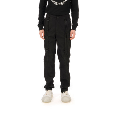 StillaDinnasLäb | Tactical Cargo Pants Black