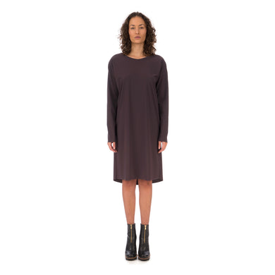 Studio Ruig | Japie Dress Plum - Concrete