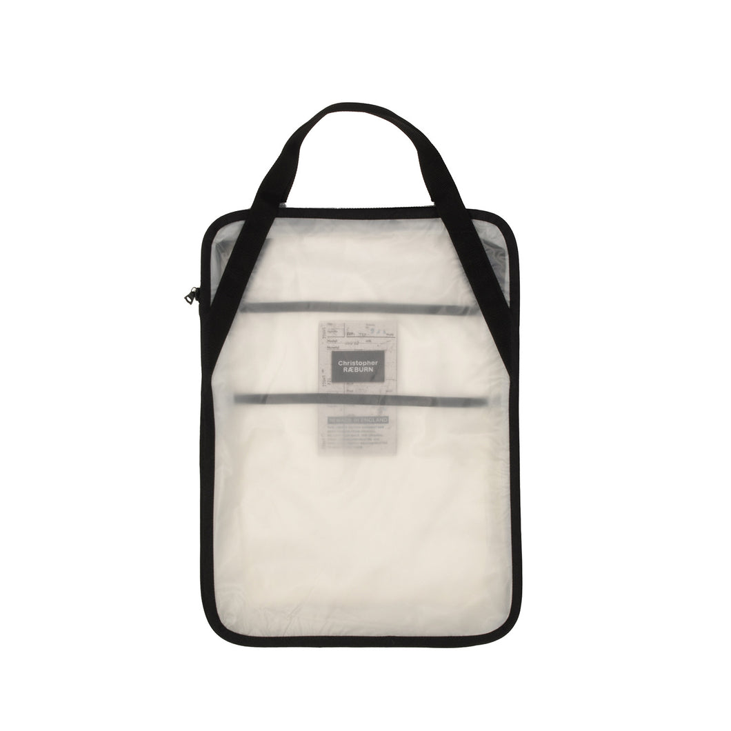 Christopher Raeburn Men's Zip Tote Clear - Concrete
