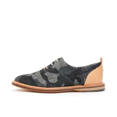 Thorocraft Hampton Textile Canvas Black Denim Camo - Concrete