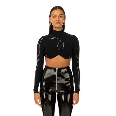 TTSWTRS | Long-Sleeved Top Black