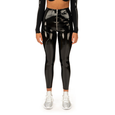 TTSWTRS | Pantent Leather Leggings Black - Concrete