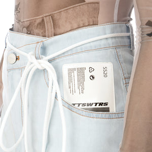 TTSWTRS | Bermuda Denim Shorts Light Blue