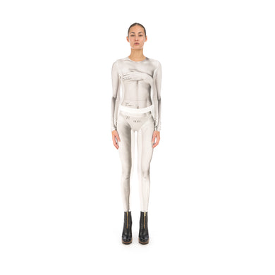 TTSWTRS Body Leggings White