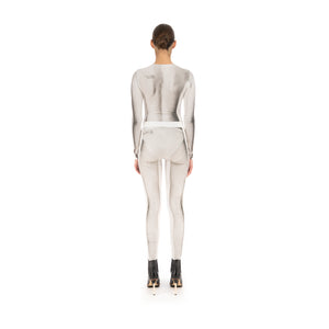 TTSWTRS | Body Leggings White - Concrete