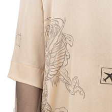 Load image into Gallery viewer, TTSWTRS | Hawaiian Silk Shirt Beige