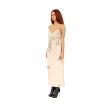Afbeelding in Gallery-weergave laden, TTSWTRS | Tattooed Silk Dress Beige