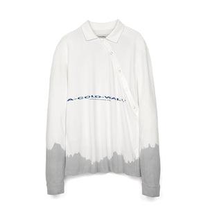 A-COLD-WALL* Recut Polo Longsleeve Shirt White