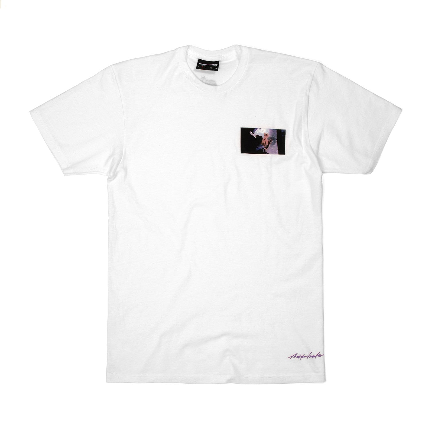 The Hundreds I Can't Wait T-Shirt White - Concrete