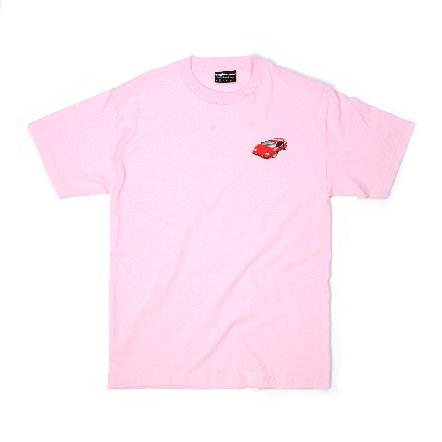 The Hundreds Pincher T-Shirt Pink - Concrete