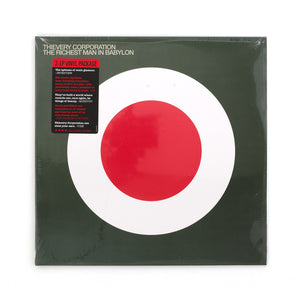 Thievery Corporation - Richest Man In Babylon 2-LP - Concrete