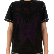 將圖像加載到畫廊查看器中United Standard | Butterfly Acid T-Shirt Black