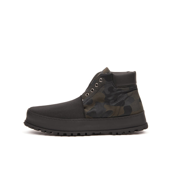 Premiata Ankle Boot Combact Verde