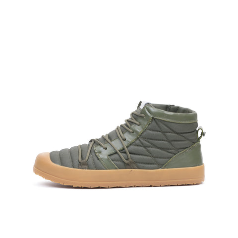 Volta Gumsole Midi Boot Forest Green