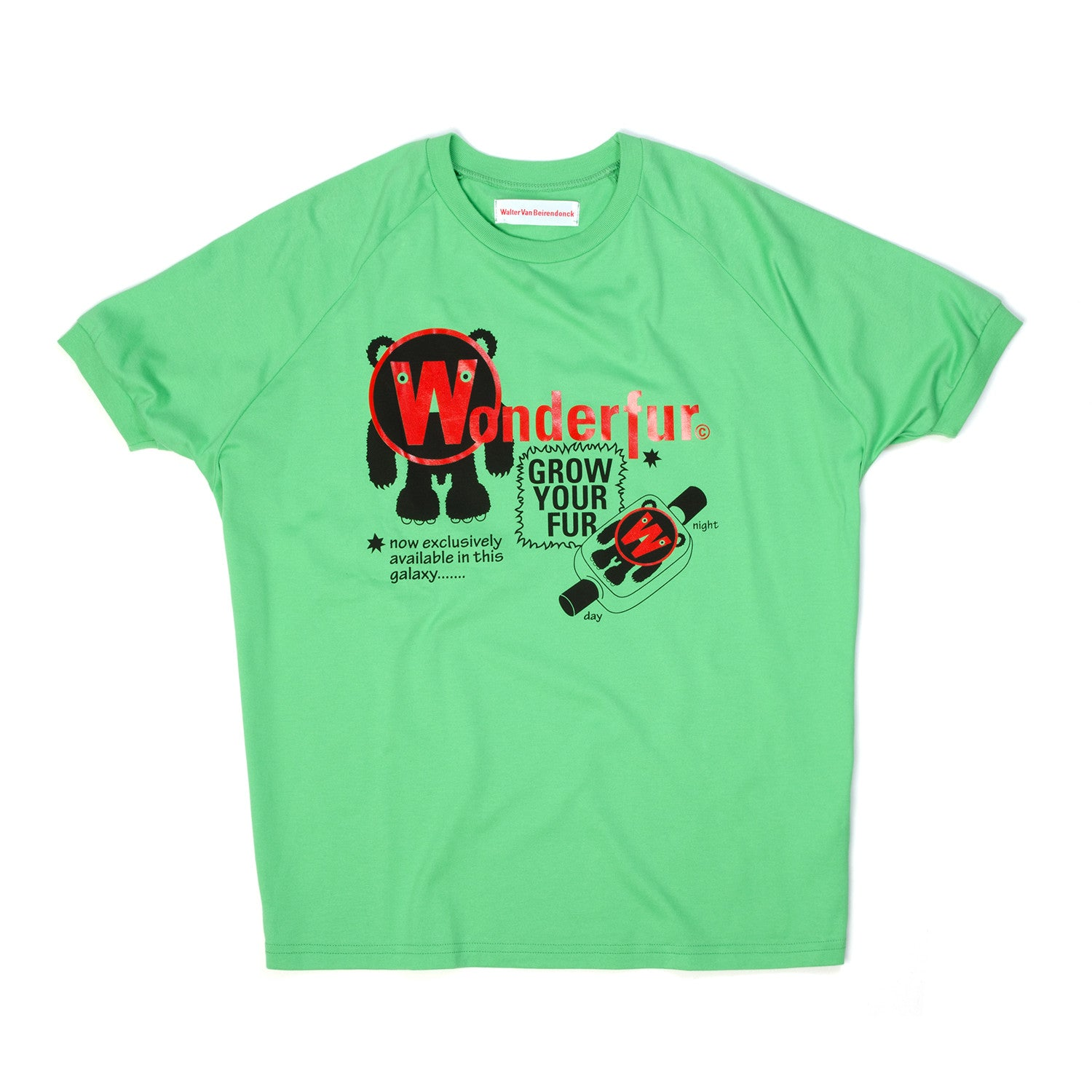 Walter van Beirendonck Wonderful Tee Green - Concrete