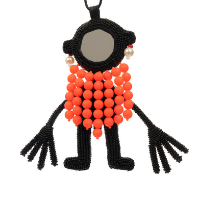 Walter Van Beirendonck | Mirrorman Necklace Black - Concrete