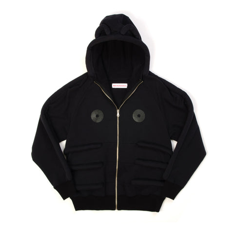 Walter van Beirendonck Bear Sweat Uni Black - Concrete