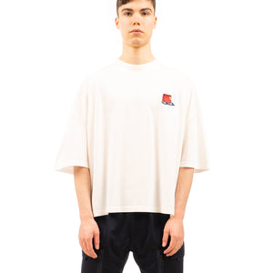 Henrik Vibskov | Men's Horsepower Takeaway Tee Off White - Concrete
