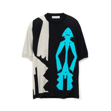 Load image into Gallery viewer, Walter van Beirendonck Mumuye Knit T-Shirt Black