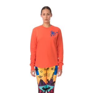 Walter van Beirendonck Spot Sweat Spicey Orange