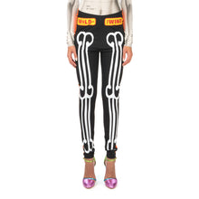 Afbeelding in Gallery-weergave laden, Walter Van Beirendonck Skeleton Bike Leggings comb.III Black - Concrete