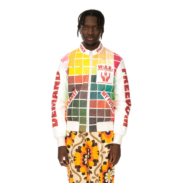 Walter Van Beirendonck | My Future Bomber CC15 Colour Blocks - Concrete