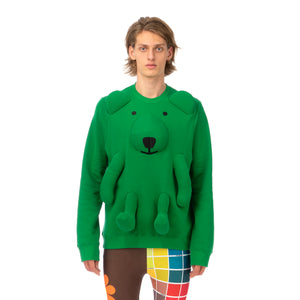 Walter Van Beirendonck | Bear Sweater Jolly Green