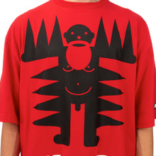 Load image into Gallery viewer, Walter Van Beirendonck | Spiky Walter T-Shirt Flame Scarlet