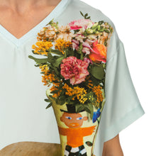 Afbeelding in Gallery-weergave laden, Walter Van Beirendonck T-Dress Slik Vase