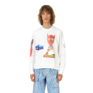 Walter Van Beirendonck | Loving The Alien Sweat White - Concrete