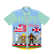 Load image into Gallery viewer, Walter van Beirendonck Flag Shirt - Concrete