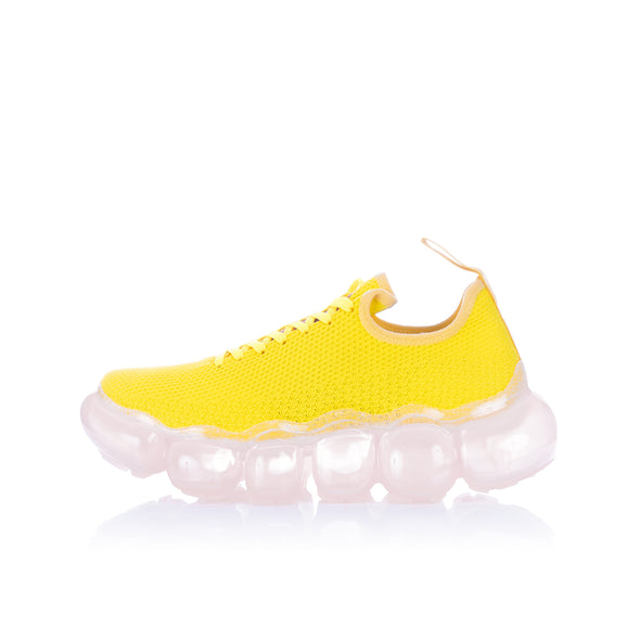 Walter Van Beirendonck | Cloud Sneakers comb.III Yellow